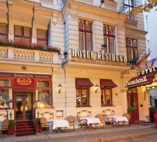 Aussenansicht  Hotel Residenz Berlin