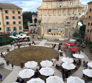 Blick in den Innenhof Hotel Colosseo Europa-Park