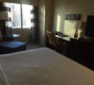 Zimmer Crowne Plaza Hotel Times Square Manhattan