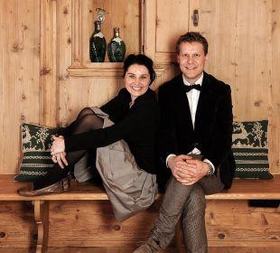 Ihre Gastgeber Carmen und Klaus Alber MIRAMONTI Boutique Hotel