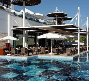 Erweiterte Terrasse Restaurant Sensimar Belek Resort & Spa