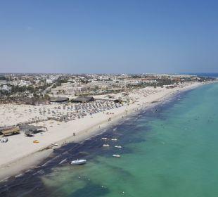 Fiesta Beach von oben Hotel Fiesta Beach Djerba