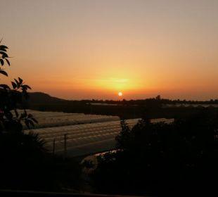 Sonnenuntergang Hotel Orkinos