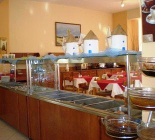Bufet w restauracji Hotel Princess Flora