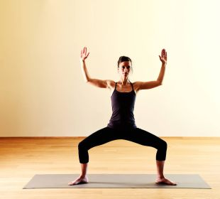Yoga im Schwarzschmied Hotel Schwarzschmied
