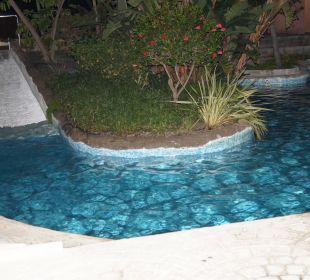 Eine der Rutschen von der Badelandschaft Playacalida Spa Hotel
