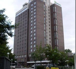 Holiday Inn Hotel mit 18 Etagen Hotel Holiday Inn Hamburg