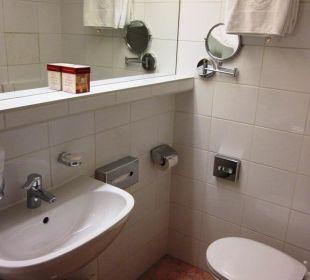 Visuale della stanza da bagno (camera 207) Hotel Capricorno