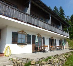 Das Nebengebäude Alpenhotel Schliersbergalm