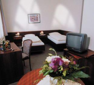 Doppelzimmer STandard Hotel Reichshof Garni