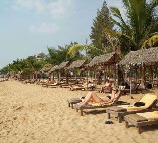 Sonnenbaden am Golf von Siam