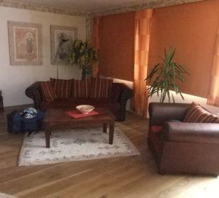 Zimmer 1 die Couch Hotel Landhaus Wremer Deel