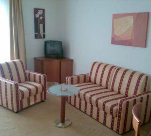 Wohnbereich des Einzelzimmers NewLivingHome Appartements Hamburg
