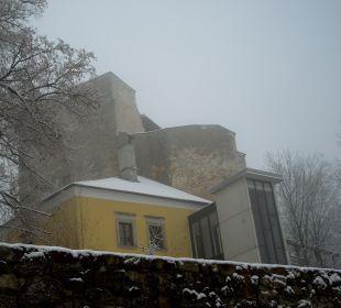 Neu und alt Hotel Schatz.Kammer Burg Kreuzen