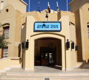 Hoteleingang Arena Inn Hotel, El Gouna