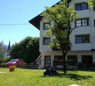 L'auberge vue du jardin Familien-Landhotel Stern