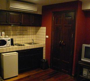 Küchenzeile und Zugang zum Bad Hotel Siam Heritage