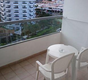 Vom Balkon aus, Westseite SENTIDO Gran Canaria Princess