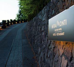 Private Zufahrt zum Miramonti oberhalb Meran MIRAMONTI Boutique Hotel