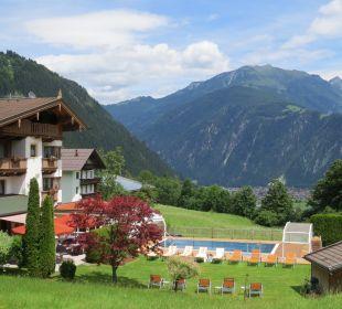 Garten und Pool Olympia Relax Hotel Leonhard Stock