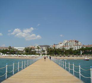 Ausblick auf die Hotelanlage vom Strand SENTIDO Perissia