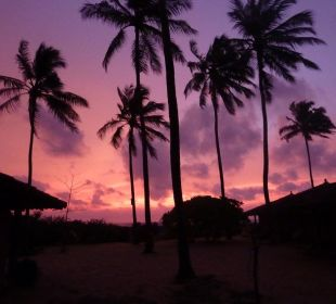 Sonnenuntergang Bungalow
