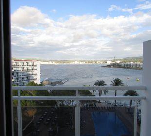 Von unserem Zimmer Fiesta Hotel Milord