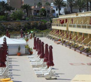 Die Anlage im Innenbereich Hotel Atlantic Beach Club