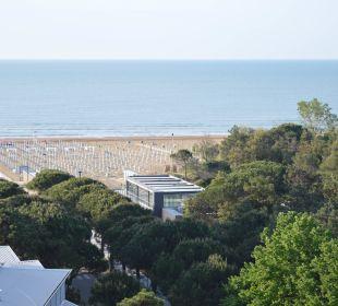 Blick  zum Meer! Hotel Cristallo Lignano