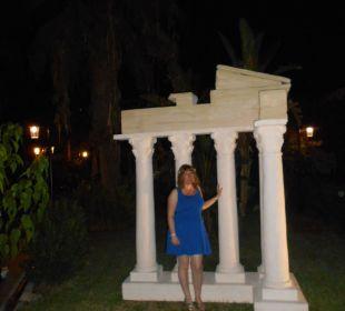Motiv Tempel in Side Side Sun Bella Resort & Spa