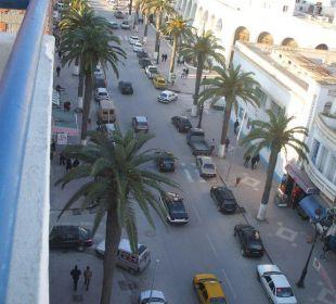 Vor dem Hotel  Hotel Sousse Residence