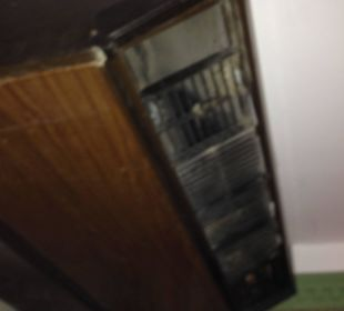 Klimaanlage mit Kriechstrom... Hotel Shams Safaga