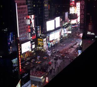 Ausblick Crowne Plaza Hotel Times Square Manhattan