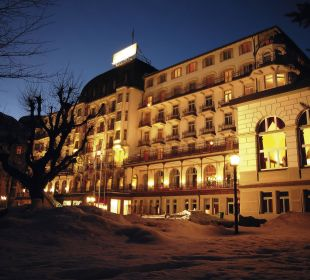 Aussenansicht Nacht Hotel Terrace