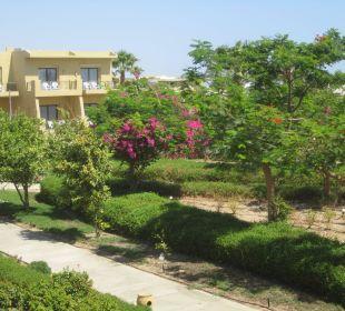 Wunderschöner Garten Three Corners Fayrouz Plaza Beach Resort