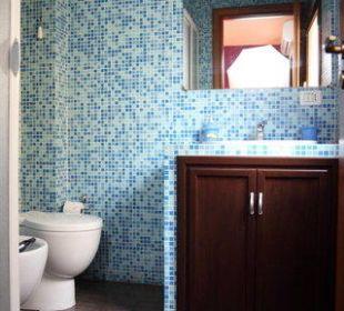 Ensuite bathroom beb Globetrotter catania Hotel Globetrotter