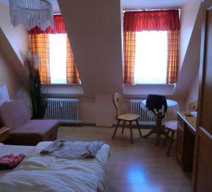 Dopplzimmer Hotel Monaco