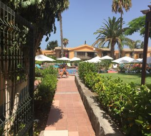 Weg zum Pool Dunas Suites&Villas Resort