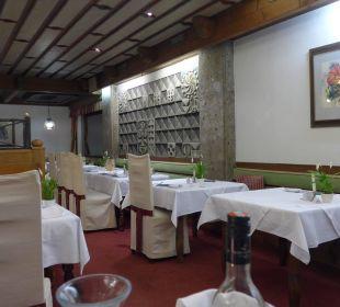 Der Speisesaal Hotel Trattlerhof