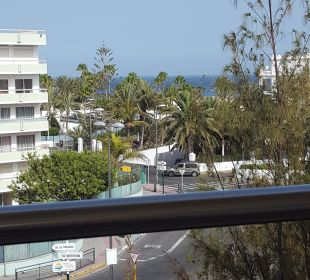 Ausblick von unserem Zimmer im 4. Stock IFA Catarina Hotel