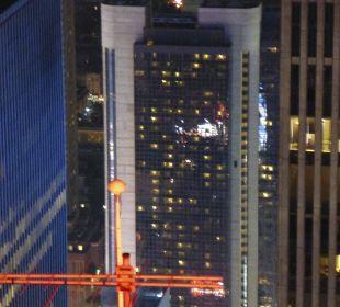 Hotel vom Rockefeller Center ausgesehen Crowne Plaza Hotel Times Square Manhattan