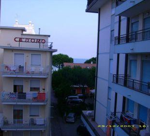 Aussicht aufs Meer - na ja Hotel Panorama