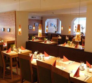 Blick ins Restaurant Hotel Bon Alpina