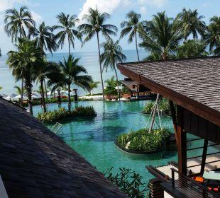 Blick vom Balkon Hotel Mai Samui Beach Resort & Spa