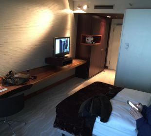 Übersicht Doppelzimmer Radisson Blu Hotel Köln