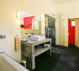 Offenes Bad, Doppelzimmer  4 Heaven Guesthouse