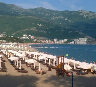 Blick über Bicici Hotel Queen of Montenegro
