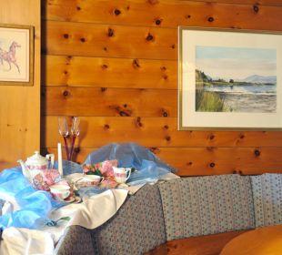 Frühstücksraum Gästehaus Flora