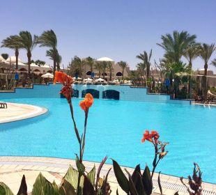 Wunderschöne Poolanlage Hotel Iberotel Makadi Beach