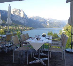 Restaurant-Terrasse 2013 Mondi-Holiday Seeblickhotel Grundlsee